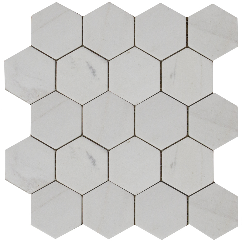 Hexagon Mw Tumbled 74x74, Wild Stone