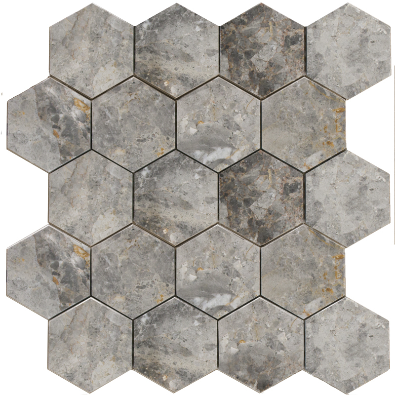 Hexagon LgP 74x74, Wild Stone